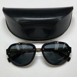 dd6cda657ede Men Black And Gold Versace Sunglasses on Poshmark